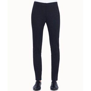 Akris Punto Mara Jersey Pants in Black Charcoal